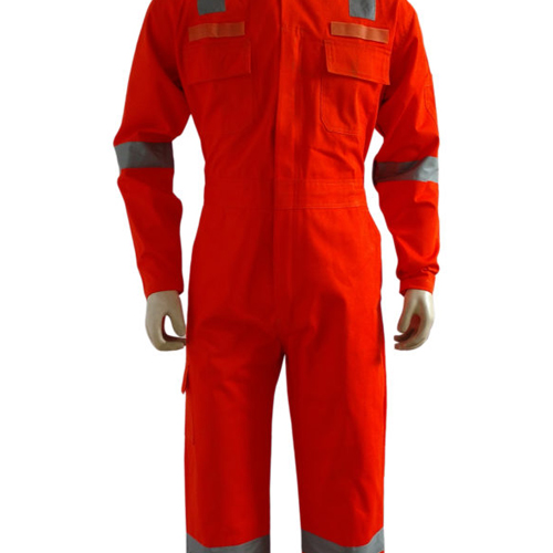 6 POCKETS REFLECTIVE INDUSTRIAL COVERALLS