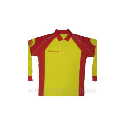 100% Cotton Full Sleeve Polo T-Shirt