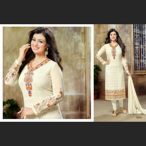 Fancy Designer Georgette Embroidery Suits