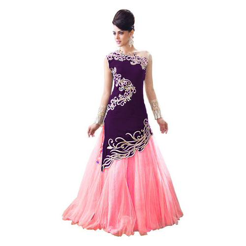 Purple Pink Gown