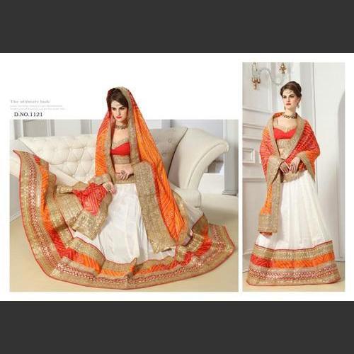 Designer Embroidery Lehngha Choli