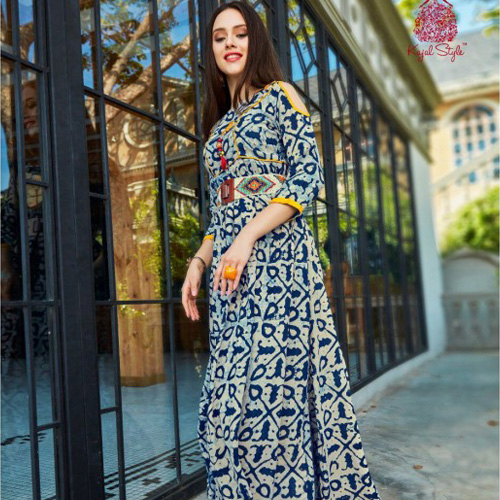 FASHION GALLERIA LATEST WINTER WEAR KURTIS COLLECTION
