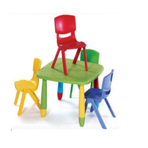 Kids Plastic Square Table