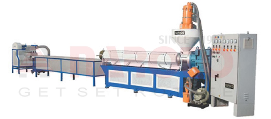 Extruder for Colouring / Compounding / Recycle (Rotomolding Grade Only)