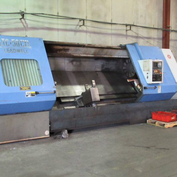 LEADWELL LTC-50CXL WITH FANUC 0T DIA 787 MM LENGTH 3000 MM