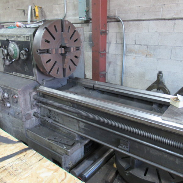 MAZAK 30 LATHE LENGTH 6000MM,SWING OVER CROSS SLIDE 500MM