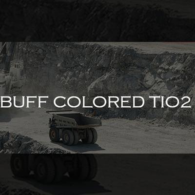 Buff Colored TiO2