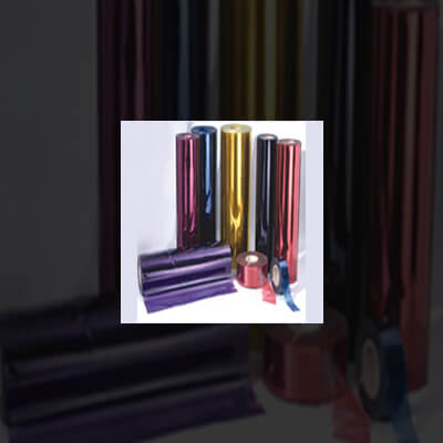 Pvc clear color film