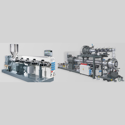 Single screw extruders for pipe