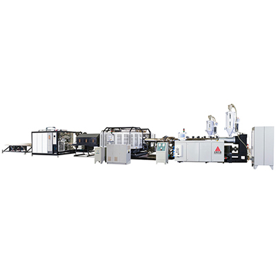 SBZ630H high-speed corrugated pipe extrusion line