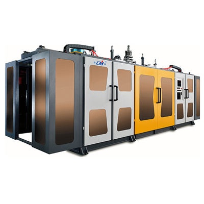 Full-automatic extrusion blow moulding machine(double station)