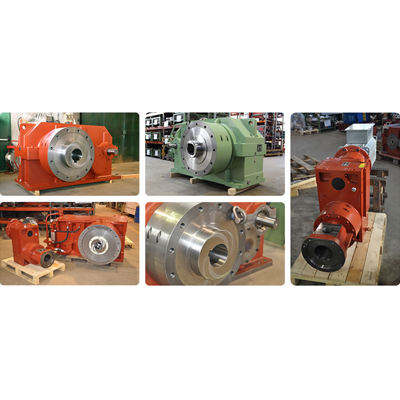 Reducers for single-screw extruders