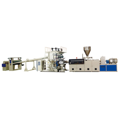 PP, PE, PVC, PS, ABS board, sheet extrusion line