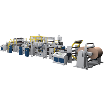 FULLY AUTOMATIC SUPER HIGH SPEED DOUBLE EXTRUSION CO