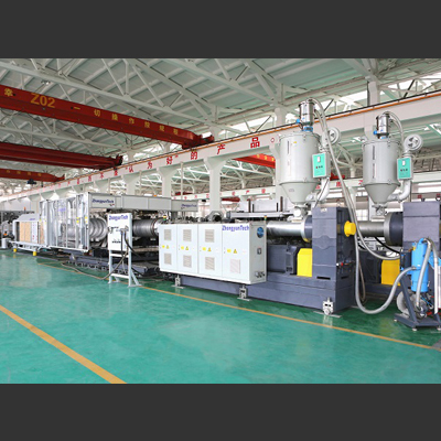 High-Speed Extrusion Line for PE/PP/PVC Double Wall