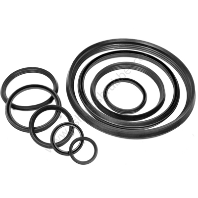 ELASTOMERIC RUBBER SEALING RINGS FOR UPVC PIPES