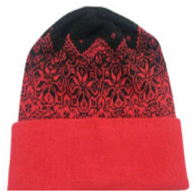 Red Colour Woolen Cap