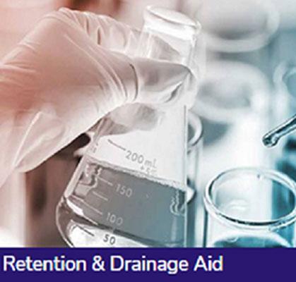 RETENTION & DRAINAGE AID CHEMICALS