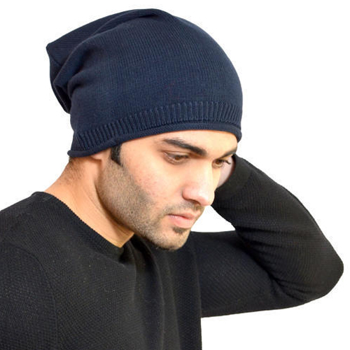 Men's Fancy Woolen Cap