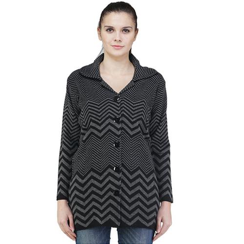 Montrex Black Color Stylish Women Cardigans