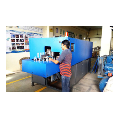Hand Feed Automatic PET Blowing Machine