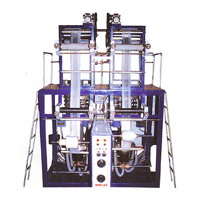 SUPER HIGH SPEED TWIN DIE HM-HDPE FILM MAKING PLANT
