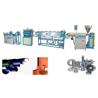 RPVC Pipes, Profiles & trunking making extrusion Plants With Single Screw Extruder