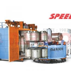 4 Arms Fuel Efficient Roto Moulding Machine to Produce Water Tanks (Speed 90)