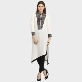Asymmetric Long Kurtis