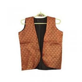 Boy's Front Open Sleevless Jacket