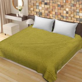 Saavra Multicolor Cut Work Cotton Double Bedsheet
