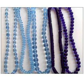 Designer Glass Bead Necklace