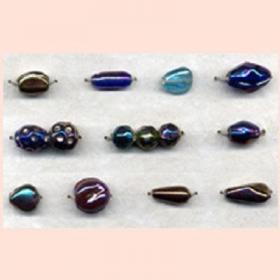 Rainbow Lustre Beads