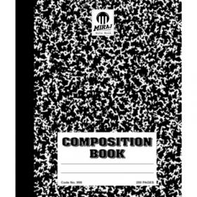 School Composition Books