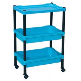 Three Trolley Shelves