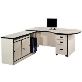 White Plywood Office Table