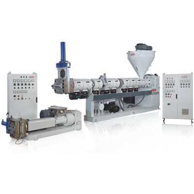 Single screw double stage extruder